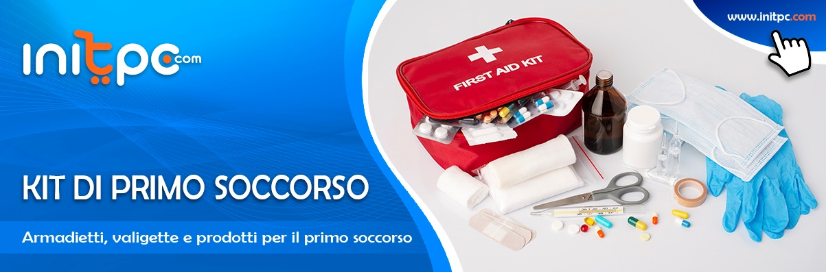 Kit e prodotti di primo soccorso