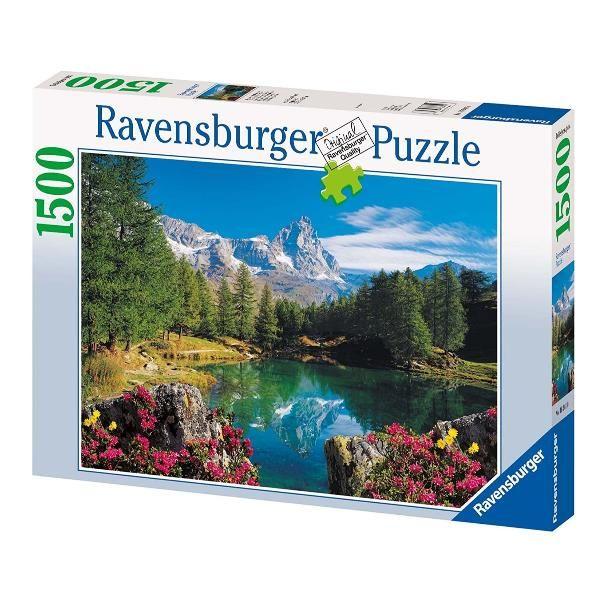 Lago alpino con cervino - 1500 pz Ravensburger