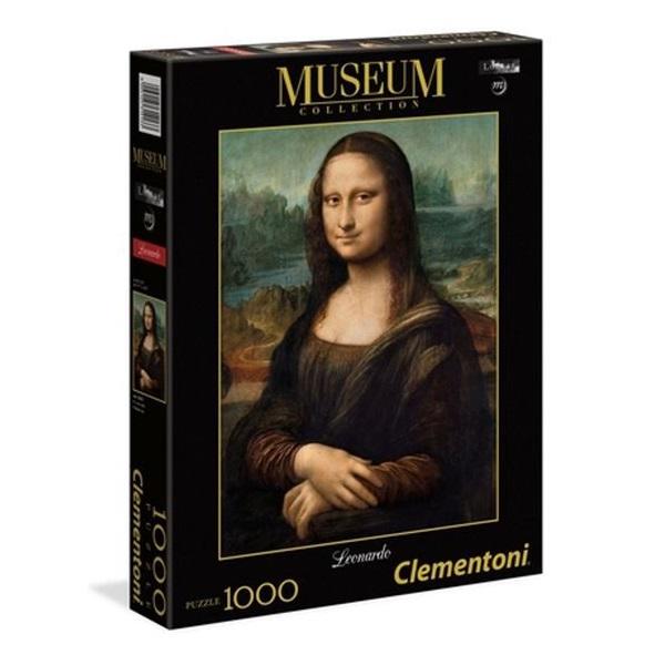 Leonardo - Puzzle gioconda Clementoni