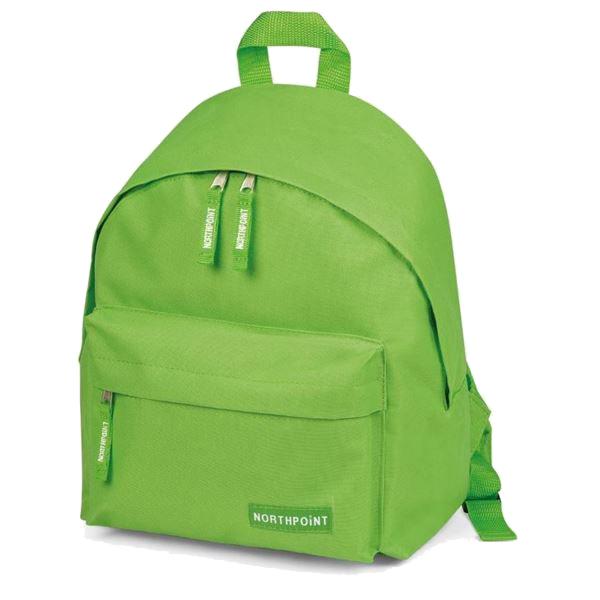 Mini zaino verde cm. 25 x30 x19 Niji