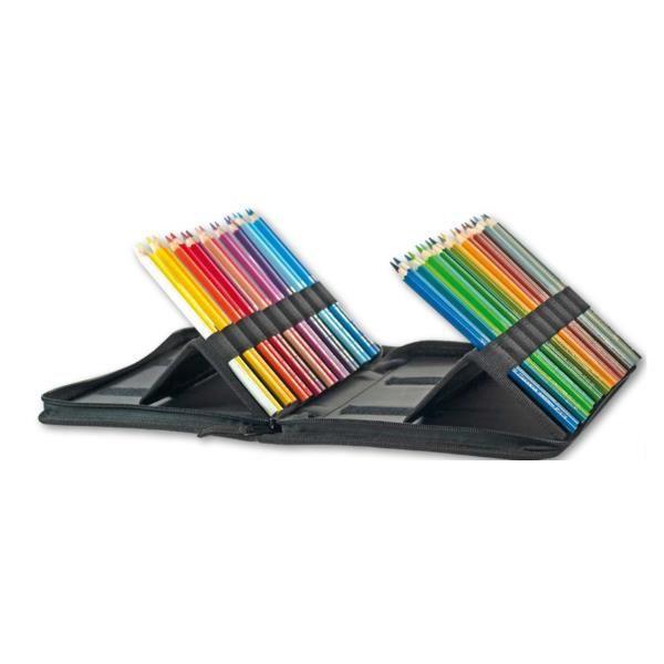 Astuccio oblo vuoto per 36 matite Koh-I-Noor