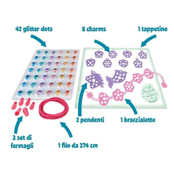 Glitter Dots Set Gioielli Crayola 04 1155 71662111557