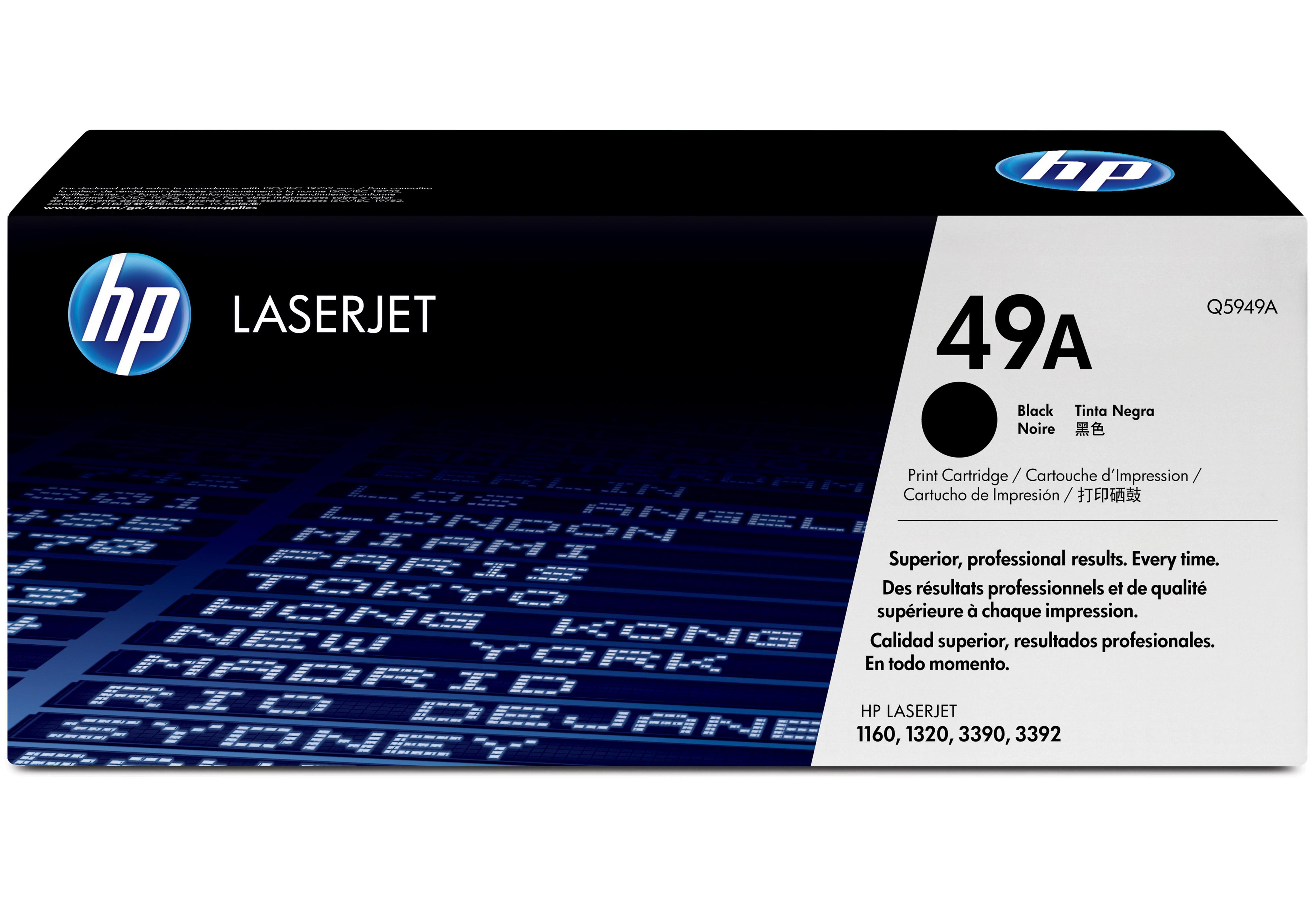 Cartuccia di Stampa Smart per Stampanti Hp Laserjet 1160 1320 Ner