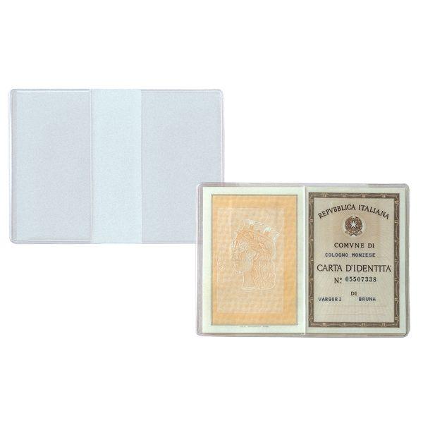 100 buste porta carta identita' 15,5x11cm 481111 8004972005379 481111_26090 by Sei Rota