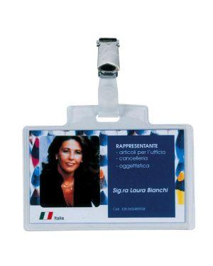 Portanome c/clip e cartoncino  sei  pass 3e cm. 9,5x6  pz.100 318005_26109 by Esselte