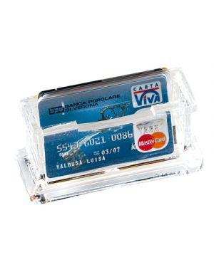 Portabiglietti da visita da tavolo acrilico trasparente 1680 lebez 1680 8007509016800 1680_26507