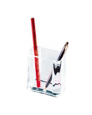 Portapenne acrilico rettangolare 9x10x5,5 LEBEZ 1681 8007509016817 1681_26508 by Lebez