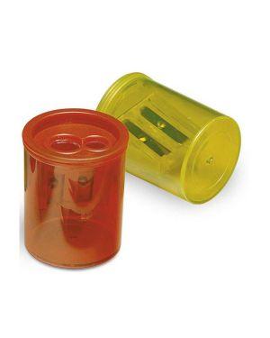 Temperamatite 2 fori 413 c/contenitore lebez CONFEZIONE DA 12 413_26533