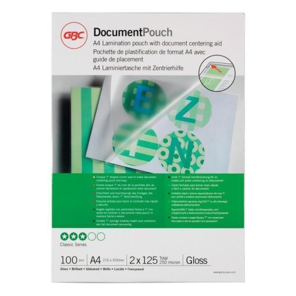 pouches plastificatrici GBC 3200723 33816024021 3200723_26601 by Gbc