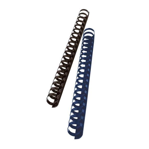 dorsi plastici 25mm nero GBC 4028182 33816097094 4028182_26710 by Gbc