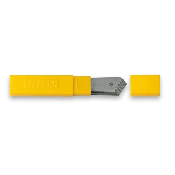 Tubetto 10 lame 18mm ricambio cutter art.lb-10 olfa LB10 91511500455 LB10_26956 by Niji Italiana