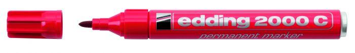 Marcatore edding 2000c rosso p.conica E-2000C 002 4004764878437 E-2000C 002_27466 by Edding