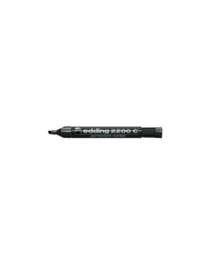 Marcatore edding 2200c nero p.Scalpello Confezione da 10 pezzi E-2200C 001_27469 by Edding