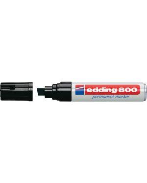 Marcatore edding 800 nero ps 4-12mm permanente E-800 001_27490 by Esselte