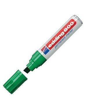 Marcatore edding 800 verde ps 4-12mm permanente E-800 004_27493 by Esselte