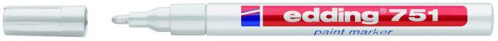 Marcatore edding 751 punta fine vernice bianco E-751 049 4004764017607 E-751 049_27567 by Edding