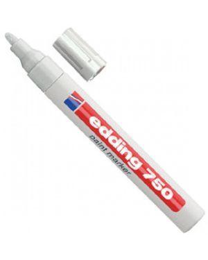 Marcatore edding 751 bianco punta fine 1-2mm vernice smalto E-751 049_27567 by Edding