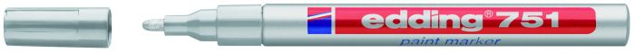 Marcatore edding 751 punta fine vernice argento E-751 054 4004764953578 E-751 054_27569 by Edding