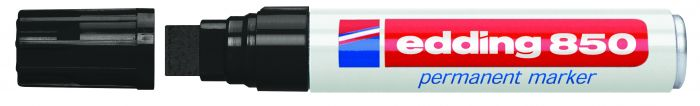 Marcatore edding 850 nero ps 5-16mm permanente E-850 001 4004764054275 E-850 001_27659 by Edding