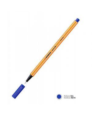 Pennarello stabilo point 88/41 blu Confezione da 10 pezzi 88/41_27693