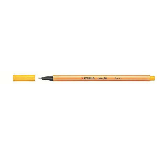 fineliner point 88 giallo Stabilo 88/44 4006381230872 88/44_27695 by Stabilo