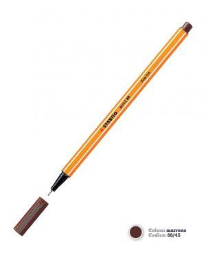 Pennarello stabilo point 88/45 marrone Confezione da 10 pezzi 88/45_27696 by Stabilo