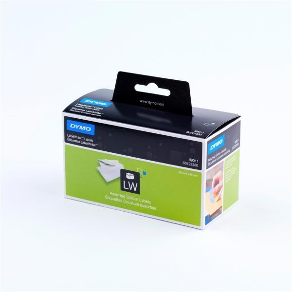 X130etich labelwrit 28x89mm ass Dymo S0722380 5411313990110 S0722380_27796 by Dymo