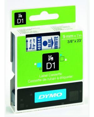 Nastro dymo tipo d1 (9mmx7m) blu - bianco 409140 S0720690 5411313409148 S0720690_27847 by Dymo