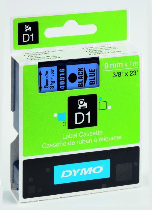 Nastro dymo tipo d1 (9mmx7m) nero - blu 409160 S0720710 5411313409162 S0720710_27849 by Dymo