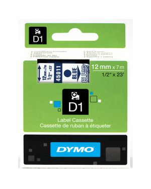 Nastro dymo tipo d1 (12mmx7m) blu - trasparente 450110 S0720510 5411313450119 S0720510_27859 by Dymo