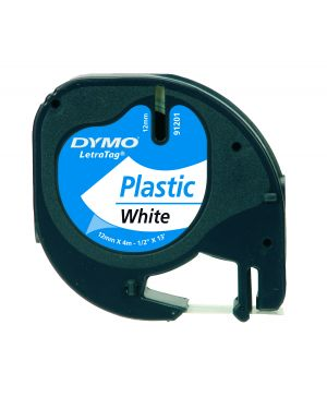 Nastro in plastica dymo letratag 12mmx4m bianco 912010 S0721610 5411313912013 S0721610_27936 by Dymo