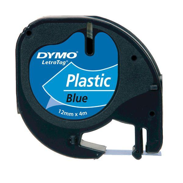 Nastro in plastica dymo letratag 12mmx4m blu 912050 S0721650 5411313912051 S0721650_27940 by Dymo