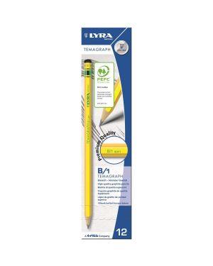 Scatola 12 matita temagraph b grafite lyra L1140101 4084900103050 L1140101_28056 by Lyra