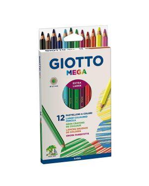 Astuccio 12 pastelli giotto mega 225600 8000825225109 225600_28094 by Giotto