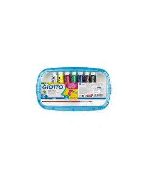 Box 7 tubetti tempera 12ml giotto tubo 4 assortito 303000_28146 by No