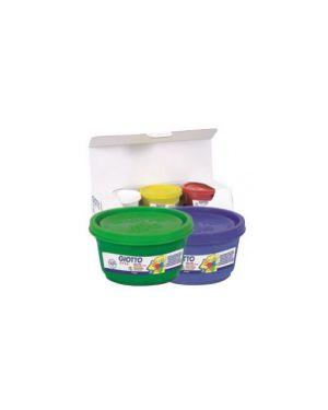 Box 6 barattoli colori a dita 100ml giotto 534100_28153 by Giotto