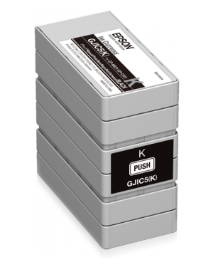 Gjic5(k): ink cartridge EPSON - BS LABEL CONSUMABLES U4 C13S020563 4988617149694 C13S020563