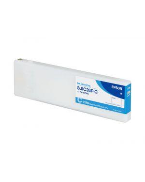 Sjic26p(c) ink cartridge cyan EPSON - BS LABEL CONSUMABLES U4 C33S020619 8715946544465 C33S020619