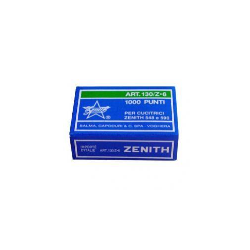 Scatola 1000 punti zenith 130/z6 (6/6) in acciaio zincato Confezione da 10 pezzi 0301303601_28183 by Zenith