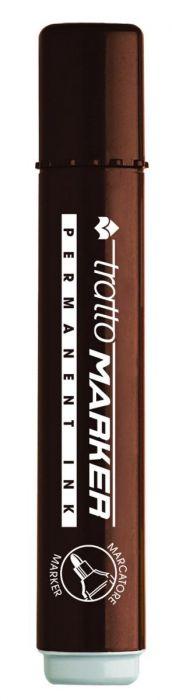 Marcatore tratto marker marrone p.Tonda Confezione da 10 pezzi 841206_28207 by Tratto