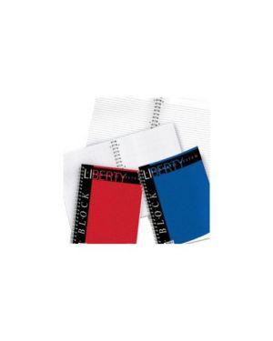 Blocco liberty block spirale 220x290mm 5mm 80fg 70gr pigna Confezione da 5 pezzi 01016515M_28573 by Pigna