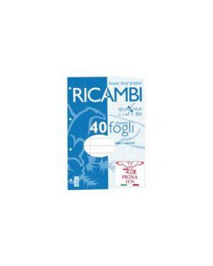 Ricambi forati a4 1rigo c/marg. Quaxima 40fg 80gr pigna 00629030C_28843 by Pigna