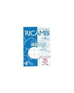 Ricambi forati a4 10mm quaxima 40fg 80gr pigna 006290310_28847 by Pigna
