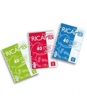 Ricambi forati a4 5mm c/marg quaxima 40fg 80gr pigna 00629030Q_28848 by Esselte