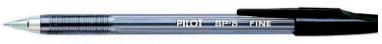Penna sfera bp s medium nero 1.0mm pilot Confezione da 12 pezzi 001630_29303 by Pilot