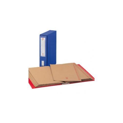 Classificatore alfabetico mec 20 rosso 23x32cm, dorso 8.5cm 00012011_29329 by King Mec