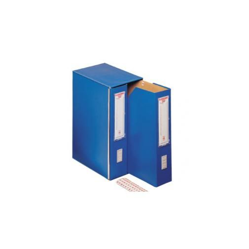 Classificatore classomec 35/2 vert.Blu 25x35cm, dorso 17cm 00025504_29335 by King Mec