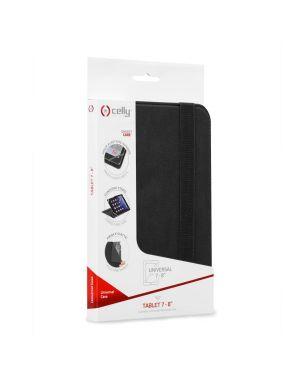 Universal tablet case 7 - 8 bk Celly UNITAB78BK 8021735720386 UNITAB78BK by No