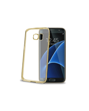 Laser cover galaxy s7 edge gold Celly BCLS7EGD 8021735717157 BCLS7EGD by No