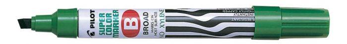 Marcatore super color permanent verde p.Scalpello 2 4,5mm Confezione da 12 pezzi 002424_29449 by Pilot